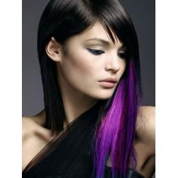 Clip in vlasy 43cm 100% lidské - REMY 70g – tmavě hnědá