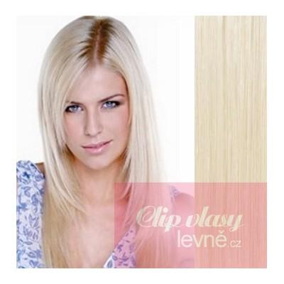 Vlasy pre metódu Tape IN 50cm - platina