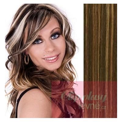 Vlasy pre metódu Tape IN 50cm - tmavý melír