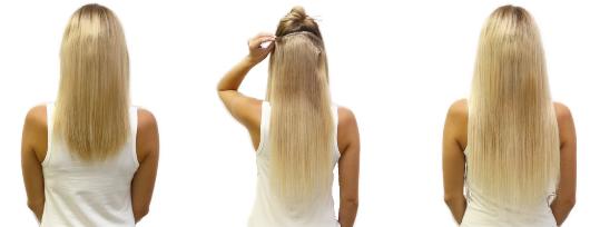 Pripevňovanie clip vlasov a ďalšie informácie