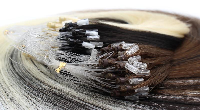 Micro ring ludské vlasy