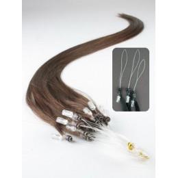 Clip in maxi set 43cm pravé lidské vlasy - REMY 140g - světlý melír