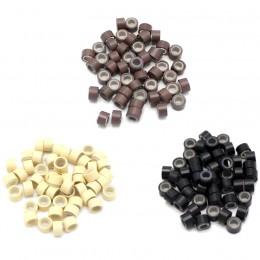 Náhradné micro ringy (krúžky) so silikónom 50ks