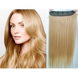 Clip in rychlopás 63cm kanekalon rovný – přírodní blond